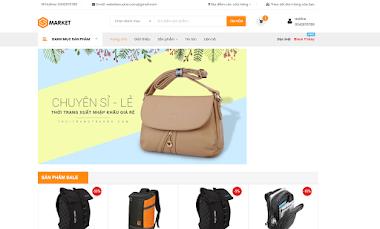 Thiết kế website bán balo túi xách online chuyên nghiệp giá rẻ
