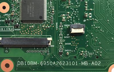 Toshiba C50-A-1JM DB10M-6050A2623101-MB-A02 U4501 Laptop Bios