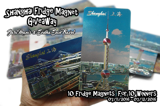 Shanghai Fridge Magnet Giveaway by Jari Manis & Scdha Sein Travel