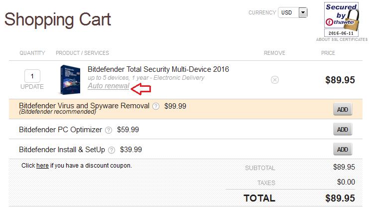 Cancel/Stop/Turn Off Bitdefender Auto-renewal ~ Anti-virus4U.com Blog