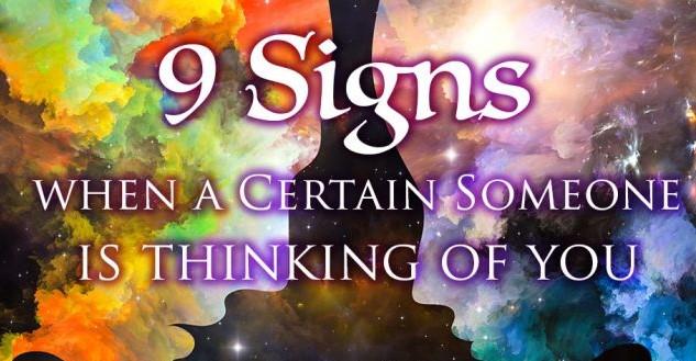 dấu hiệu ai đó đang nghĩ đến bạn