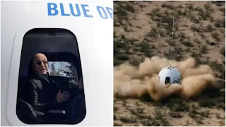 Today will live auction of Blue Origin for July trip to space  with CEO of Amazon