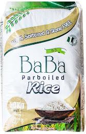 Baba Parboiled Rice 50kg