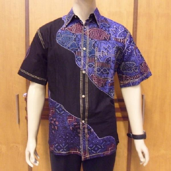 Potongan Baju Batik Pria: Model Baju Batik Pria Lengan Panjang Modern Modis Terbaru