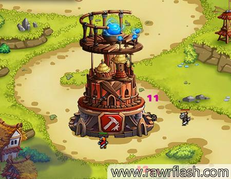 Jogos de tower defense: Ultimate Tower, proteja sua torre!