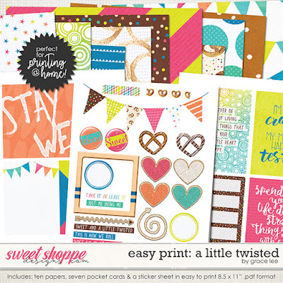Easy Print: A Little Twisted