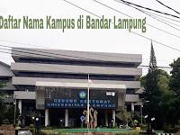 9+ Kampus Terbaik di Kota Bandar Lampung