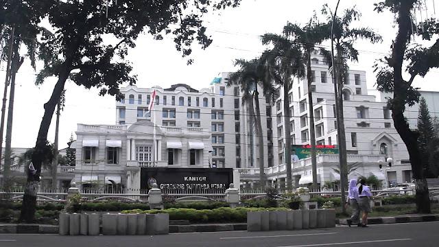 Siapakah Calon GUBSU Pada Periode Yang Akan Datang?  - Gambar: Kantor Gubernur Provinsi Sumatera Utara