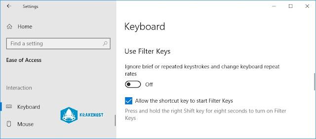 filter key