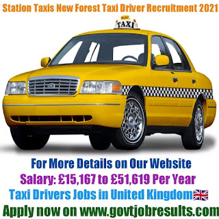 Station Taxis New Forest Taxi Driver Recruitment 2021-22