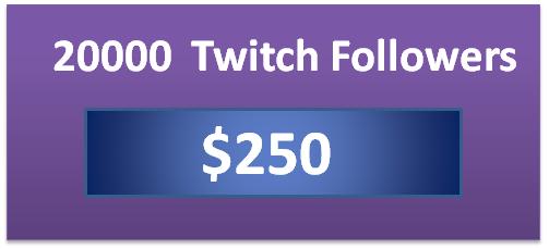 20000 twitch viewer bot, buy twitch followers cheap