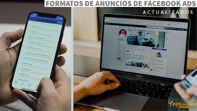 Formatos de anuncios de Facebook e Instagram ads. Conoce sus principales características [ Actualizados]