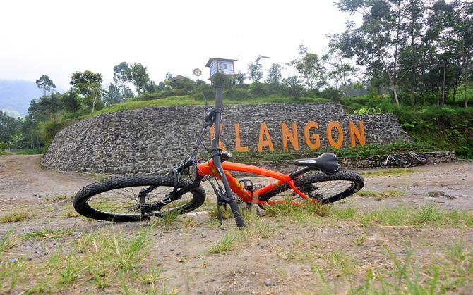 Landmark tulisan Klangon