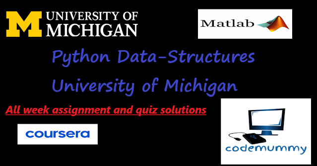 Coursera-Python-Data-Structures-University-of-Michigan-assignment solutions-all weeks solutions