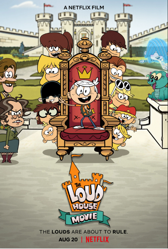 The Loud House Movie (2021) Hindi Dubbed ORG 720p NF HDRip 650MB Download