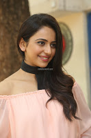 Rakul Preet Singh in lovely Pink Crop Top and Black Trousers at Jaya Janaki Nayaka success meet 010.JPG