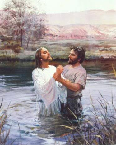 """... the Holy Spirit descended on him [Jesus] in bodily form like a dove. And a voice came from heaven: """"You are my Son, whom I love; with you I am well pleased."""" —Luke 3:22"""