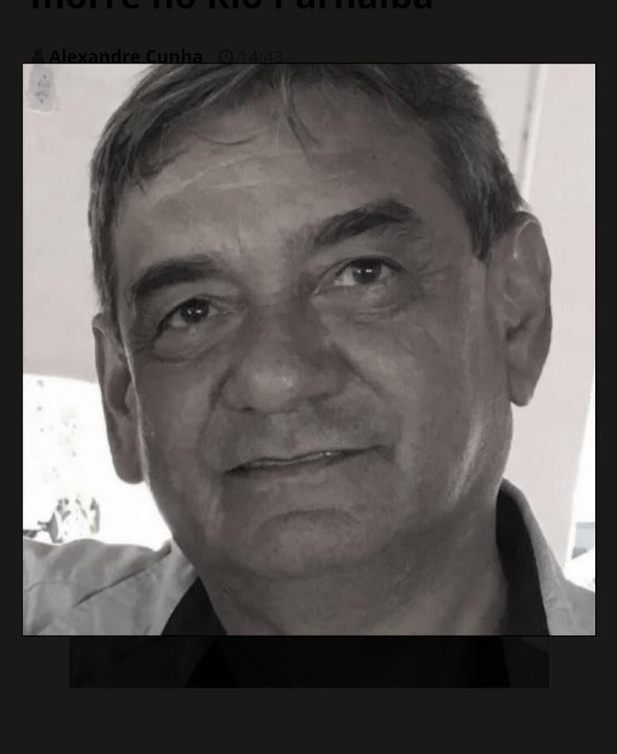 Médico do Maranhão e irmão do Senador Marcelo Castro morre no Rio Parnaíba