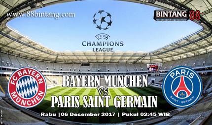 Prediksi Bayern Munich vs Paris Saint Germain 06 Desember 2017