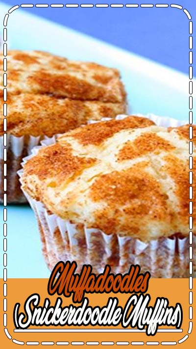Recipe for Snickerdoodle Muffins, known as Muffadoodles!