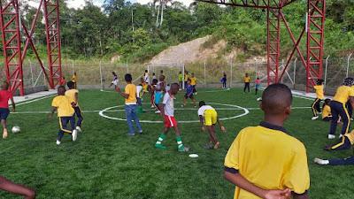Prosperidad Social hace entrega de obra para el fomento de la práctica deportiva en Unión Panamericana