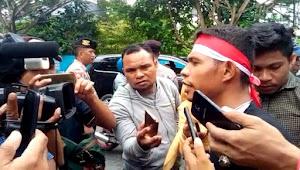 Diduga Menista Agama, Bupati Maluku Tenggara Barat Didemo GPII di Kota Ambon