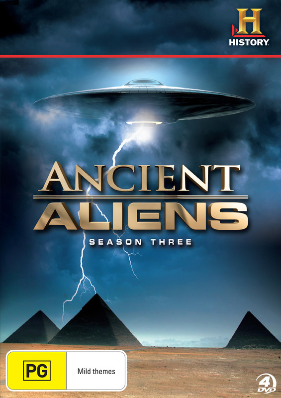 Alienigenas Ancestrales Temporada 3 Dual Castellano/Ingles 720p
