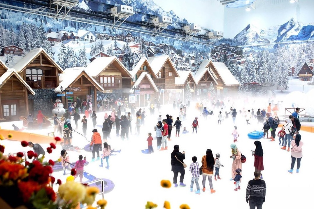 Suasana Trans Snow World