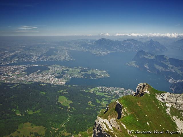 Lago de los Cuatro Cantones, Lucerna, por El Guisante Verde Project