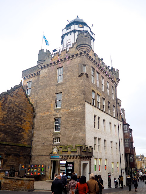 Camera Obscura, Royal Mile, Edinburgh