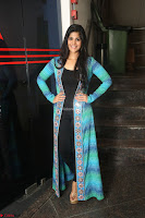 Megha Akash in a beautiful Anarkali dress with Long Jacket at LIE success meet ~  Exclusive Celebrities Galleries 024.JPG