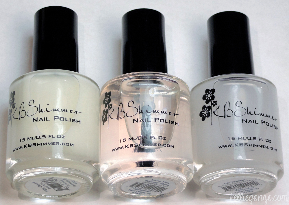 KellieGonzo: KBShimmer New Nail Care Products Review