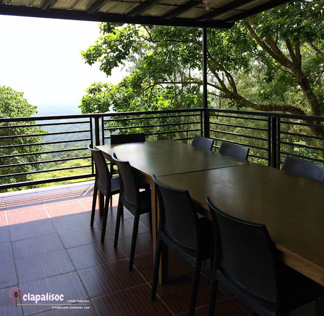 Al fresco area in The Wild Juan Tagaytay