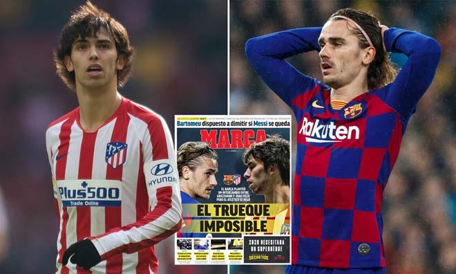 Barca liên tục gây sốc: Messi chưa đi đã muốn tiễn Griezmann, đổi lấy Felix? 2