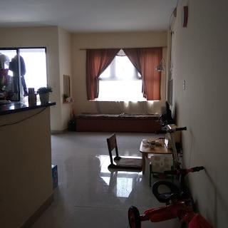 phòng khách chung cư tân mai 2 phòng ngủ tân tạo bình tân
