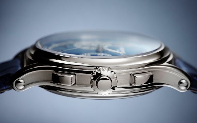 Patek Philippe 5370P with Blue Dial