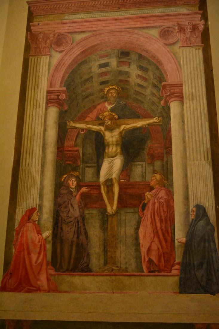 Trinité, Masaccio, 1425