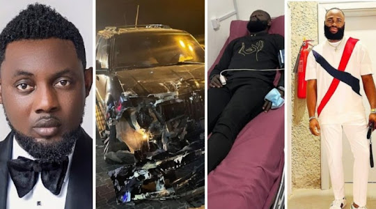 AY brother, Yomi Casual Involved in a car accident