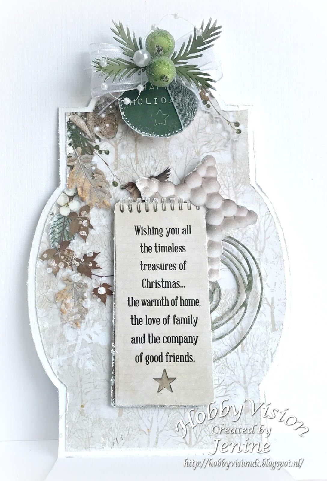 Jenine Siemerink: Wishing you all the timeless treasures of Christmas