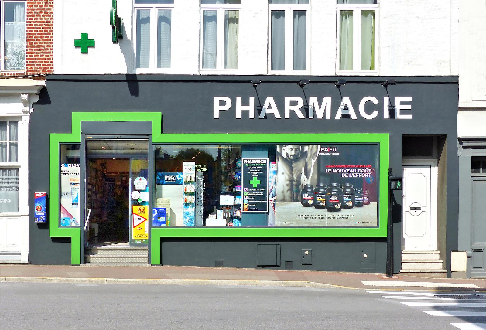 Pharmacie Tourcoing - Pharmacie de la rue de Gand
