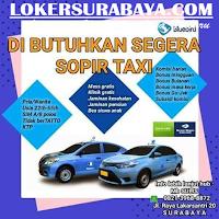 Info Loker Surabaya di Bluebird Taxi Terbaru Juli 2019