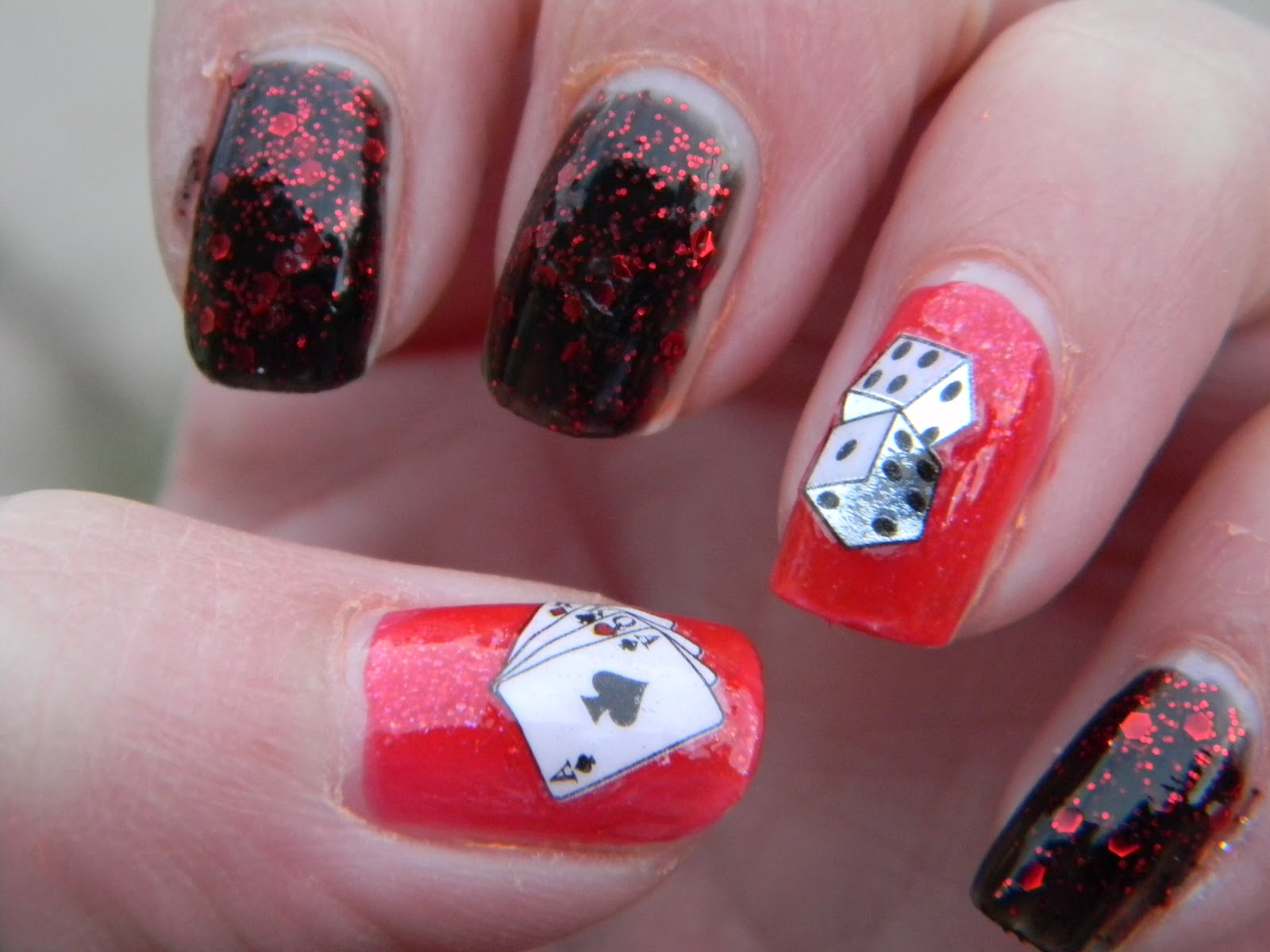 Red Ruby Nails Las Vegas