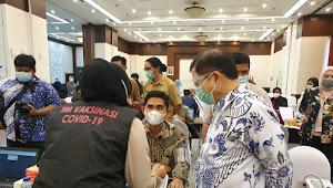 Menteri PPN: 2566 Pegawai Bappenas PNS dan Non PNS Akan Divaksin Covid-19