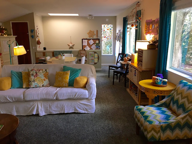 waldorf homeschool room