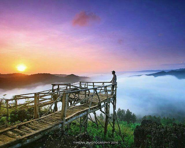 sunrise di bukit panguk