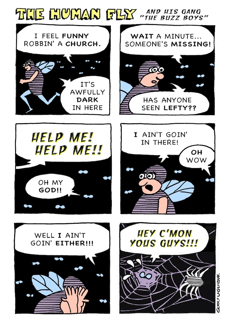 the Human Fly, a cartoon