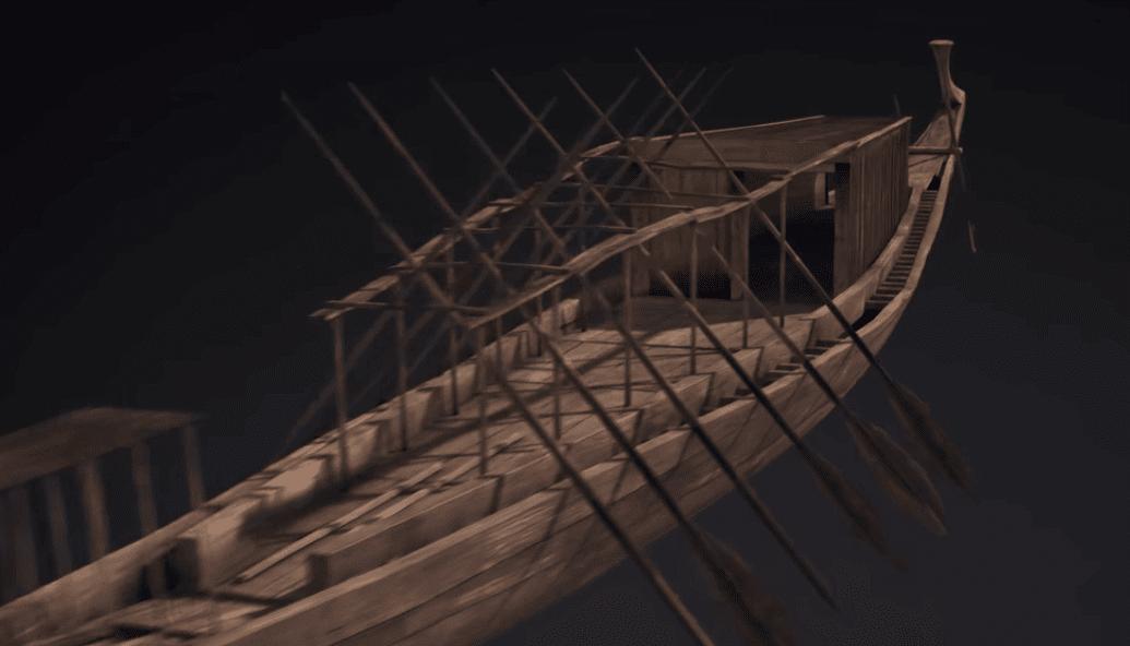 مركب-الشمس-سفينة-خوفو