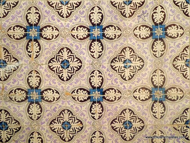arte de la decoración con azulejos Portugal