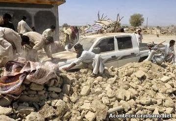 Fuerte terremoto en Pakistán