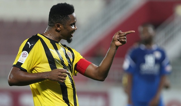 Vidéo - Football: Découvrez le doublé de Samuel Eto'o lors de la Coupe du Qatar